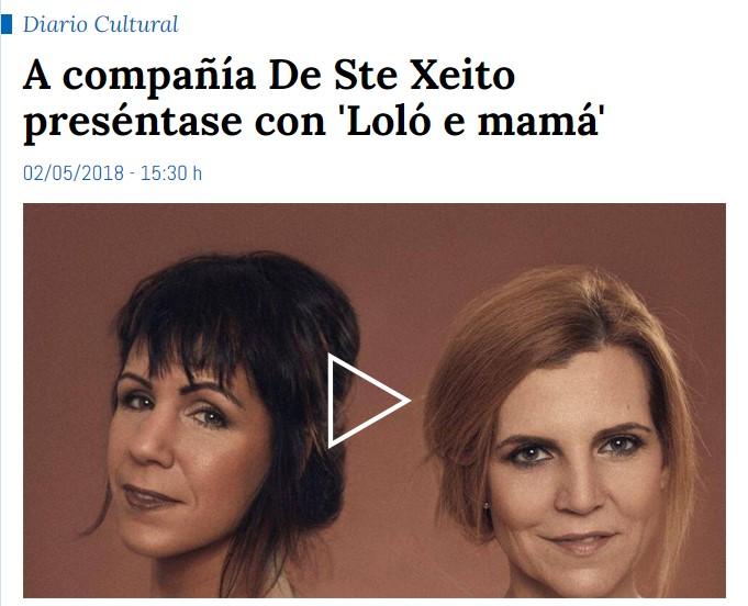 Loló e Mamá (Entrevista Radio Galega)